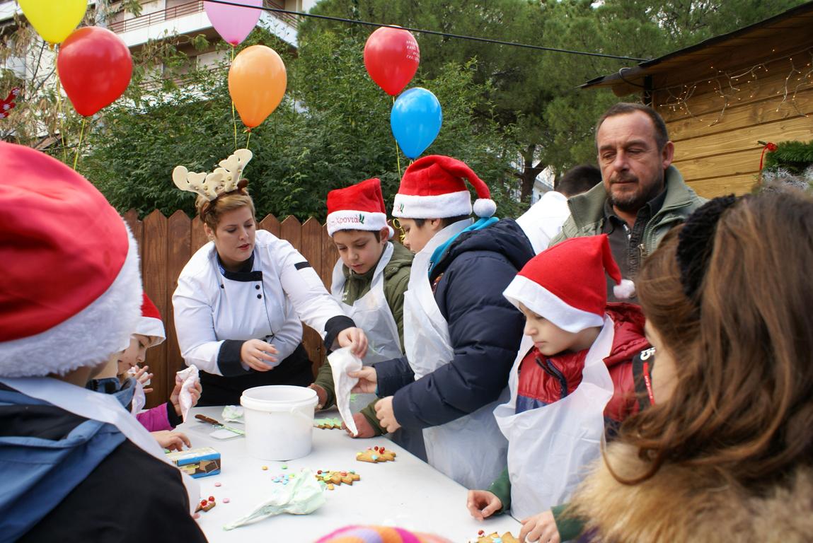 Santa Claus in Aigio