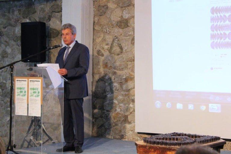 Φεστιβάλ Πριμαρόλια. Με μεγάλη επιτυχία η εκδήλωση «Από το αμπέλι στην UNESCO» σε συνεργασία με την Π.Ε.Σ. Το παρών έδωσε και ο πρώην πρωθυπουργός Γεώργιος Παπανδρέου.